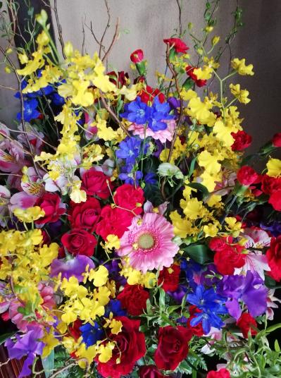 2020.3.21玄関のお花